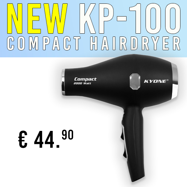 Compact hairdryer KP-100